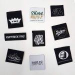 etichete tesute etichete textile tesute imprimate woven labels